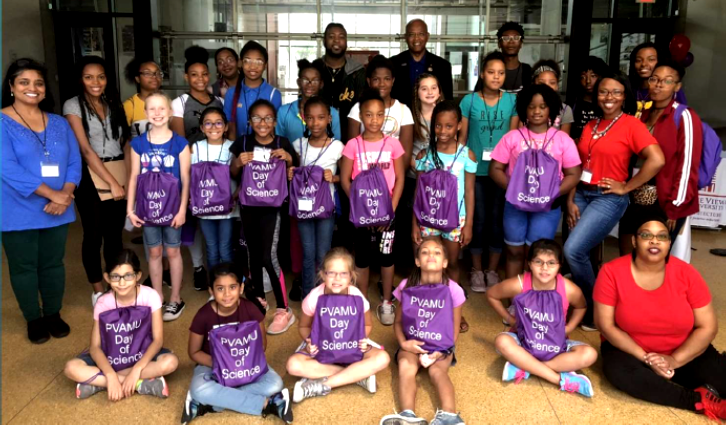 Prairie View A&M University Day of Science Picture